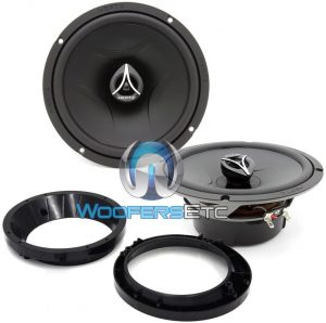 pkg Hertz ECX-165.5 2-Way Coaxial Speakers for Harley Street Glide