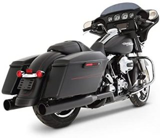 Rinehart (100-0201) True Dual Exhaust System for Harley
