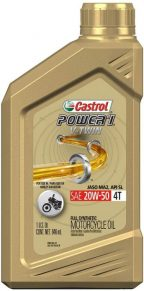 Castrol (06116) Power 1 V-Twin 20W-50 Synthetic Harley Motorcycle Oil