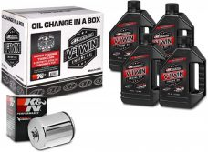Maxima Racing Oils (90-119014C) Chrome Engine Oil for Harley Davidson