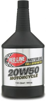 Red Line 42504 20W-50 Motorcycle Oil For Harley Davidson