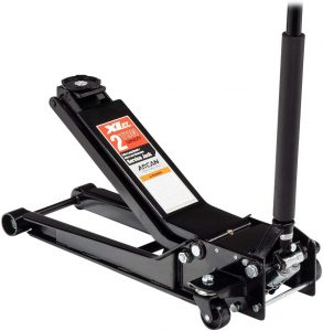 Arcan Extra Long Reach Low Profile Steel Floor Jack XL2T – 4000lb