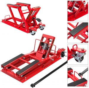 Torin Big Red T64017 Hydraulic Powersports Lift Jack – 1500lb