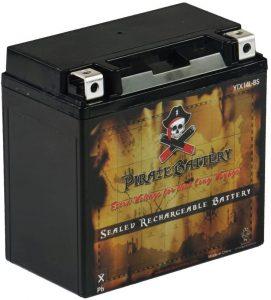 Chrome Battery YTX14L-BS